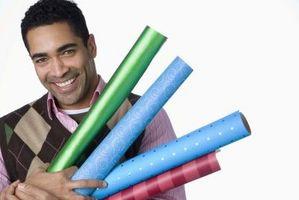 Comment couvrir Cadres Avec Papier d'emballage pour Noël