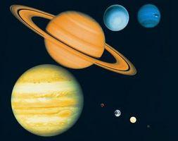 Éléments que le maquillage des planètes externes