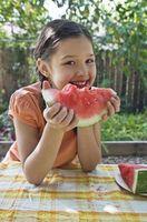 Idées de collations santé pour les enfants avec le lait et allergies aux arachides