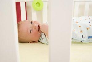 Les parties d'un lit de bébé