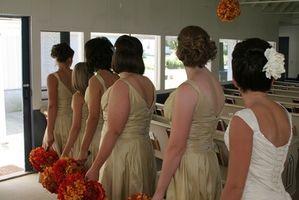 Coiffures jeunes demoiselles d'honneur