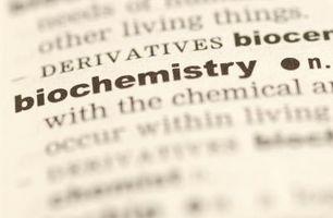 Les différences entre la chimie et de biochimie