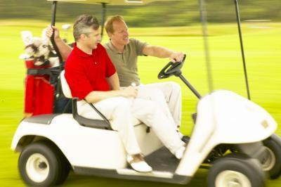 Comment décorer votre chariot de golf avec des signes