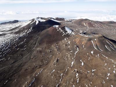Les types de roches sur Mauna Loa