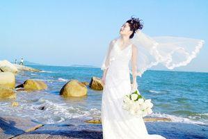 Asiatiques mariée Coiffures
