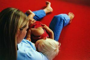 Nursing discrète d'un enfant en public