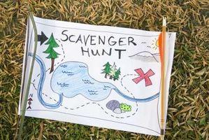 Suggestions pour une petite famille Scavenger Hunt dans le Pays