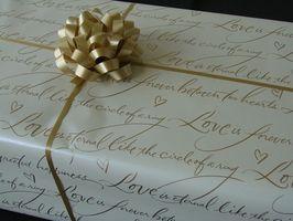 Liste de contrôle Registre de cadeaux nuptiale