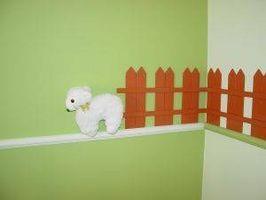 Idées bon marché pour décorer une crèche