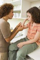 Comment obtenir un enfant pour arrêter Picking Croûtes
