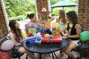 Idées pour une fête d'anniversaire Seizième