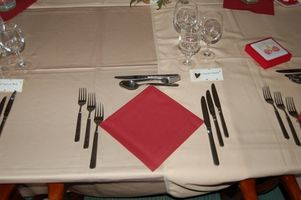 Idées de réception de mariage pour les cartes clients