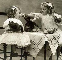 Réception Après-midi de thé victorien bricolage pour une jeune mariée