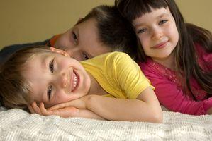 Activités intérieures physiques pour enfants d'âge préscolaire