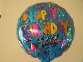 Idées de fête d'anniversaire Haute école