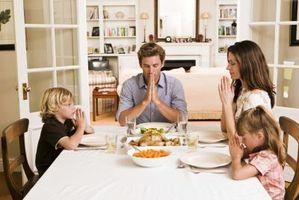 Prières de Thanksgiving pour les jeunes enfants