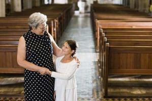 Cadeaux pour les grands-parents dans les congrégations de l'Église