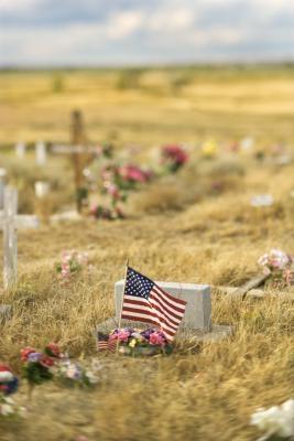 Comment placer correctement drapeaux sur les tombes des anciens combattants