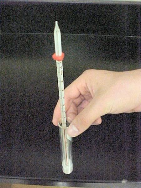 Comment utiliser un thermomètre Lab