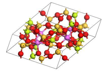 Où sont-béryllium éléments trouvés dans la nature?