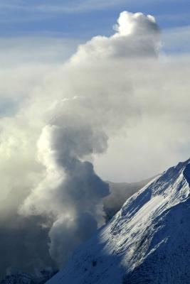 Qu'est-ce qu'un exemple d'une éruption volcanique célèbre?