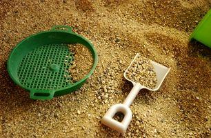 Comment construire une table de sable et de l'eau