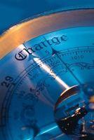 Comment lire un baromètre Liquid Mercury