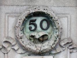 Idées de cartes 50ème anniversaire uniques