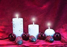 L'histoire des bougies de Noël