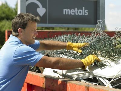 Élimination des déchets de métal Scraps