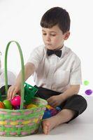 Idées Unique Panier de Pâques pour les garçons