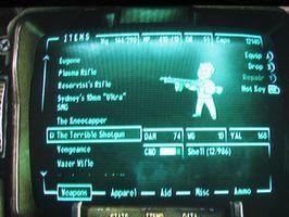 Comment faire pour obtenir le fusil de chasse Terrible dans Fallout 3