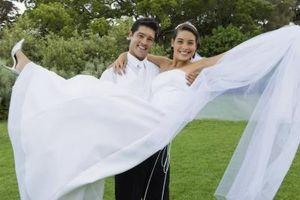 Comment faire un à trois niveaux Voile de mariage