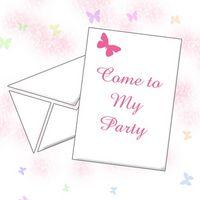Comment faire une carte d'invitation Vieux anniversaire de deux ans