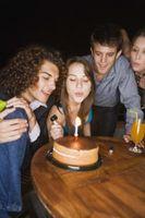 Idées anniversaire de menu