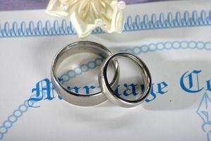 Comment faire pour obtenir une copie certifiée d'une licence de mariage à San Diego, Californie
