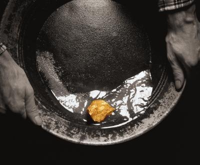 Comment faire pour supprimer l'or Flocons De Quartz