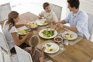 Règles Dîner Etiquette pour les enfants