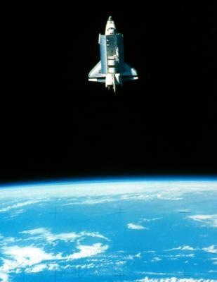Comment afficher une navette spatiale dans le ciel nocturne