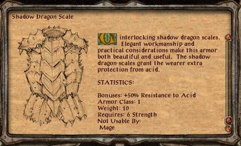 """Comment Forge l'Ombre du Dragon échelle courrier dans """"Porte de Baldur 2"""""""