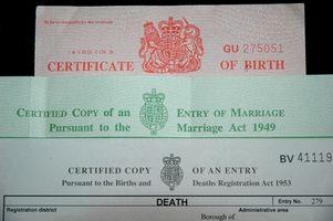 Comment puis-je obtenir une copie d'un certificat de naissance à l'étranger?