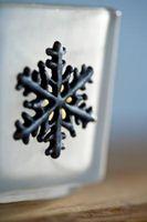 Invitations ressemblant Snowflakes