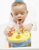 Idées pour le gâteau d'un bébé