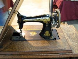 Comment recueillir coudre anciennes machines
