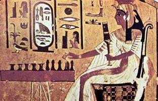 Comment faire un jeu Senet Ancient Conseil égyptien
