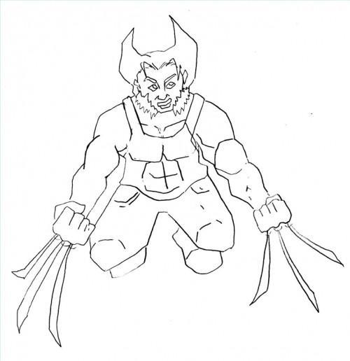 Comment dessiner Wolverine