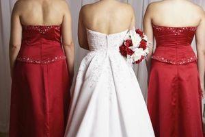 Comment faire de fer en satin de mariée?