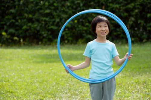 Comment faire anneaux olympiques avec Hula Hoops