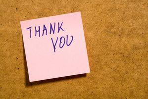 Comment Adresse Cartes de remerciements