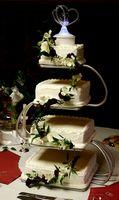 Comment faire les gâteaux de mariage et de les mettre en place pour les débutants